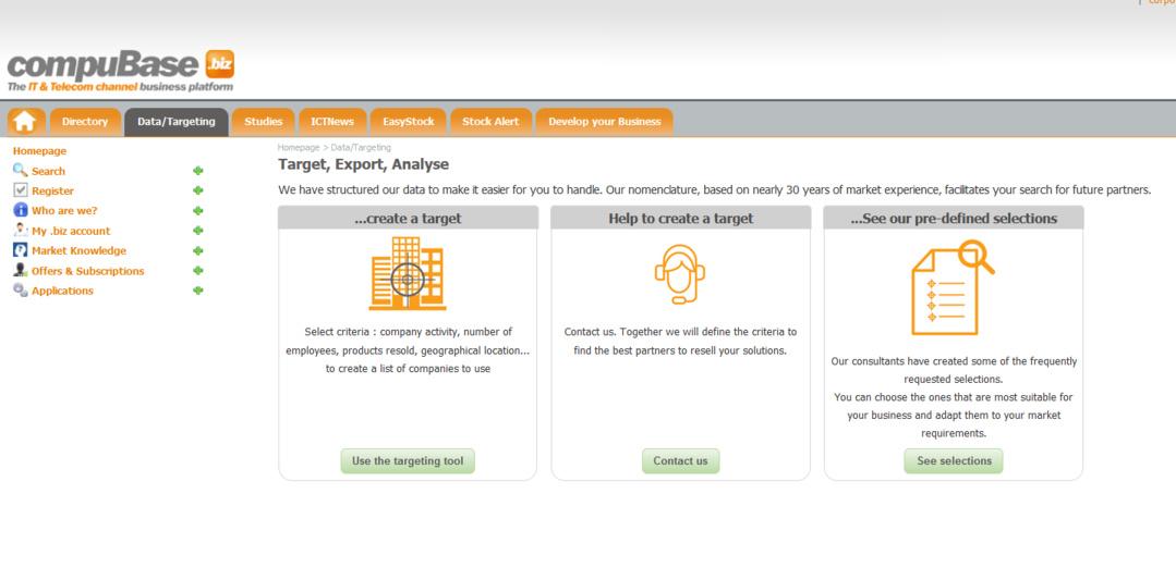 compubase.biz The ICT Business Platform