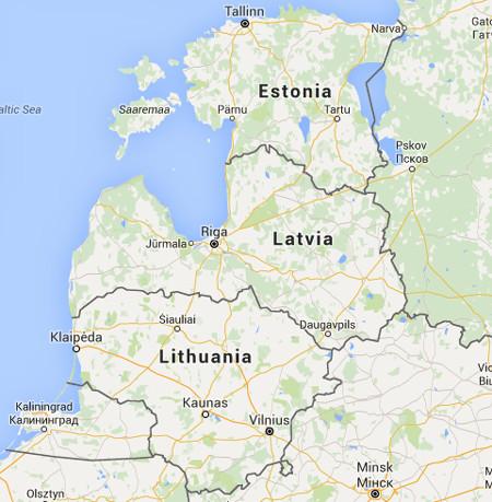 ICT Distribution in Baltic countries; Latvia, Estonia, Lithuania