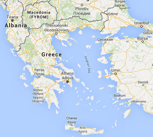 ICT Distribution in Greece